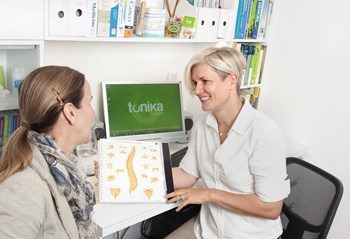Advice on posture and the functioning of your body is part of tonika health's quality promise