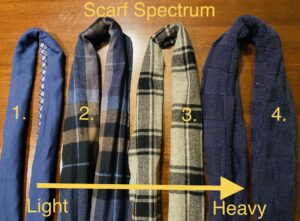 Boost your health with scarves
